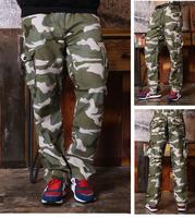 Hot Trend Mens tactical pants Casual Military Army Cargo Combat jogger pants Camo Loose drop crotch pants Trousers Overalls