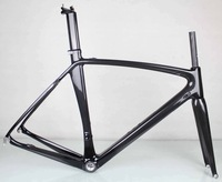 Di2 AERO full carbon bicycle road bicycle bike frame fork seatpost BSA 3K 50/52/54/56cm without Headset
