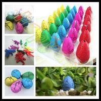 30pcs 3*5cm child Easter Egg dinosaur eggs dinosaur Easter animal egg kid hatch out animal creative toy Easter children day gift