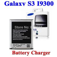 2100mAh EB-L1G6LLU Battery +Battery Charger Cradle For Samsung Galaxy S3 i9300 S III GT-i9300 Bateria Batterij Cargador
