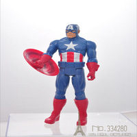 The Avengers Captain America Wolverine Thor Spiderman Batman PVC Action Figures Toys 29cm KY-61