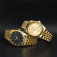2014 watches men luxury brand quartz watch,men full steel watch,Casual Men Wristwatches Wholesale CHENXI Gold watch relogio
