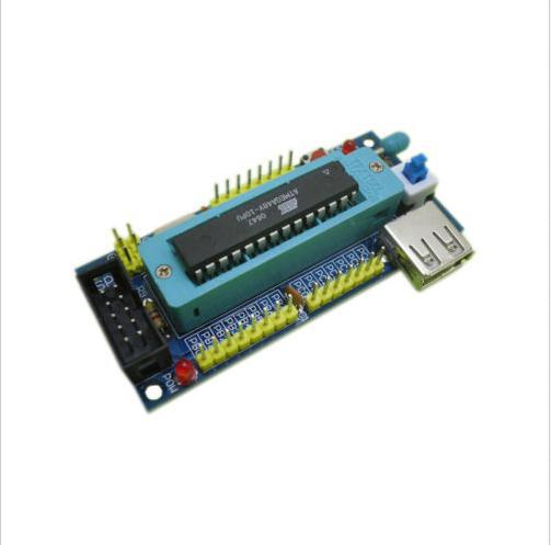 Hot ATmega8 ATmega48 ATMEGA88 Development Board AVR (NO Chip) DIY Kit Better US5(China (Mainland))
