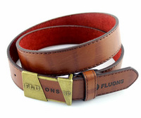 Tide wild men new fashion casual pin buckle belt 2015 Pu leather top Wholesale brand high quality free shipping