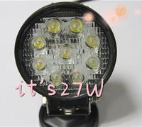 4 inch 27W work light 12V Spot or Floor headlight