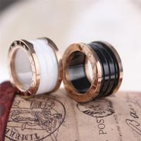 Rose gold ring for women18k titanium color gold lovers ring
