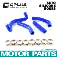 Silicone Radiator Heater Hose Fit For KTM 50 SX 50SX 2009-2011 BLUE