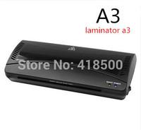A3 laminating machine photo laminator 320 membrane laminating machine for hot and cold   Free shipping
