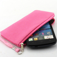 General football pattern zipper bag Wallet Leather Cover Case for huawei y600