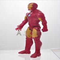 Free Shipping Marvel Iron Man 3 Action Figure Superhero Iron Man Tonny Mark 42 PVC Figure Toy 26cm Chritmas Gift KY-60