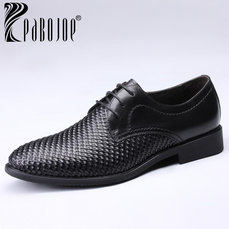 Pabojoe 2014 New Men's Fashion Shoes Flats Men's Leather shoes Dress shoes Business Shoes 201447(China (Mainland))