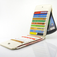 Case grain patent leather card pack Leather Wallet Phone Purse Case For SAMSUNG GALAXY NEXUS I9250