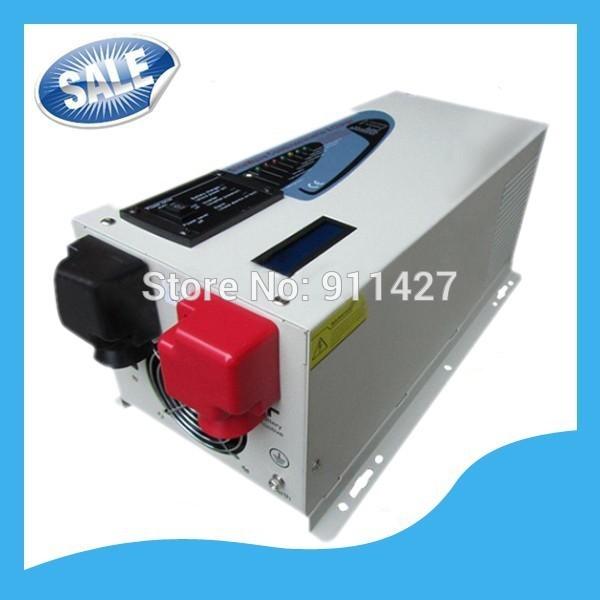 3000w Max 9000w AC Input 240V Split Phase 120V 240V Output Pure Sine Wave Inverter Charger 45A DC 24V Converter(China (Mainland))