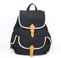 2014 Famous Designers Brand Fashion Korean Cavans Casual Schoolbag College Wind Women Backpack School Bags For Teenagers