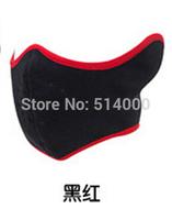 New Thermal Fleece Half Face Mask Snowboard Ski Sled Facemask X-Sport Skate Skating Skids Skateboard Hood Cap Free Shipping
