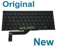 "Keyboard For Apple MacBook Pro 15"" Retina A1398 RU Russian 2012 2013 Years Teclado"