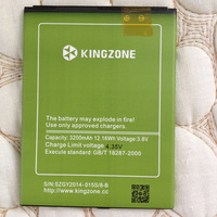 Original Green Large Battery High Capacity Battery for Kingzone K1 Turbo pro Smartphone 3200mAh Battery