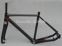 FR-603  Full Carbon Glossy Cyclocross Bike Frameset : Frame 53cm For Disc Brake  + Fork