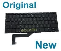 """Keyboard For Apple Macbook Pro Retina 15"""" A1398 UK English MC975 MC976 mid 2012 2013 Years Teclado"""