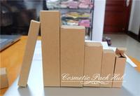 2*2*9.6cm Kraft Paper Box Pen Needlework Box Cosmetic Essence Lipstick Bottle Box Custom Paper Boxes