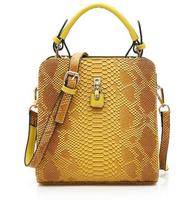 Winter PU leather double zipper single shoulder bag female bag handbag