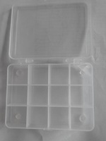 12 rooms fishing hook beads accessories box