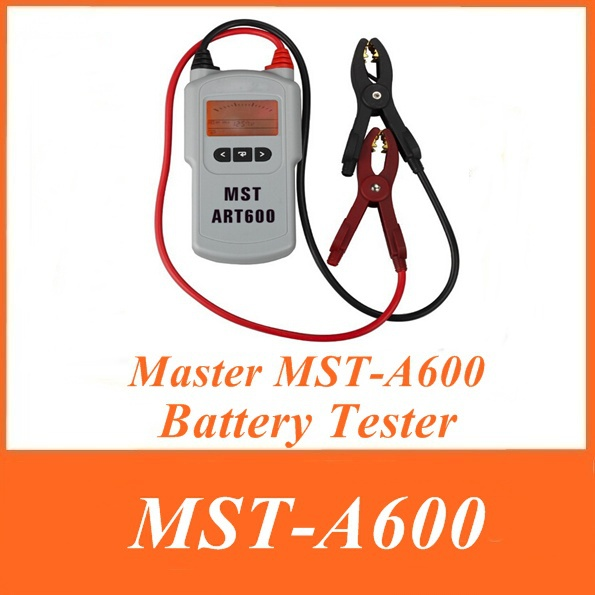 2015 Best Master MST-A600 12V Lead Acid Battery Tester MST A600 MSTA600 Smart Battery tester Analyzer with Free Shipping(China (Mainland))