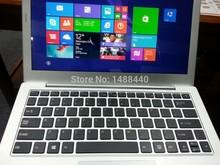 cheap price new arriving metal Intel i3 window laptop DDR3 RAM 4GB 500GB Flash DDR3 memory(China (Mainland))