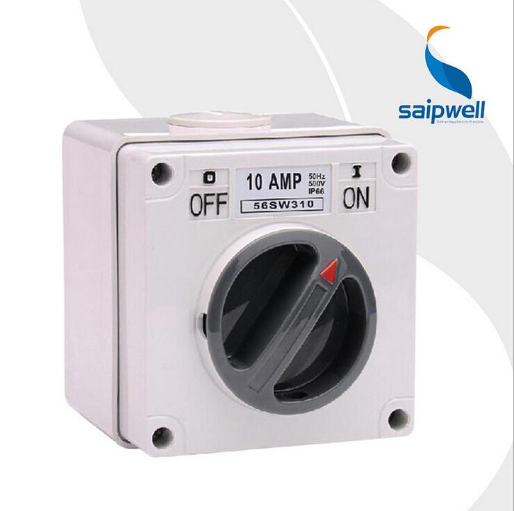 Saipwell IP66 Waterproof Switch Rotary Switch Waterproof and Dustproof Switch (SP-56SW310)(China (Mainland))