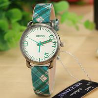 KEZZI K-1027 Brand Leather Strap Watches Women Dress Watches Relogio Waterproof Ladies Watch Gift Clock Quartz Watch