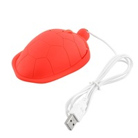 Tortoise Shaped USB 2.0 Cable Wired Scroll Wired High Precision Mouse 3 Colors Optional Free Shipping