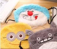 Personalized fashion cartoon series cartoon masks dust goggles dual Korean winter cute female masks