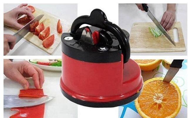 hyl 2015 HOT SALE Kitchen Knife Sharpener ,Sharpening Stone Household Knife Sharpener Kitchen Knives Tools(China (Mainland))