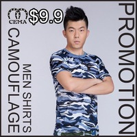 New 2015 summer men t-shirts casual camouflage shirts army vests tactical clothing kryptek camo colete equipamento militar top