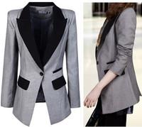 New 2015 blazer women coats lady suit blazer feminino suits for women blazers and jackets blaser feminino coat