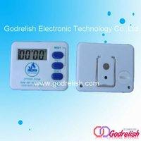 square plastic timer,lcd digital timer