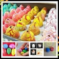 48pcs 2.5*3.2CM kid Easter Egg dinosaur eggs Easter dinosaur animal eggs hatch out animal creative toy Easter children day gift