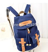 mochila camera Canvas backpacks for teenage girls Fashion Femininas Woman Korean String School Bag Big Casual Travel Laptop Bag