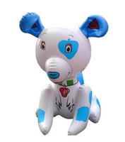 free shipping 10pcs/lot  new arrival big strawberry dog inflatable toys  children toys wholesale