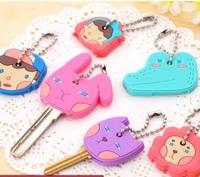 Creative cartoon keychain key chain key mobile phone sets