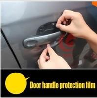 Hot!!  For VW Volkswagen Golf 6 GOLF 7 MK7 skoda octavia Tiguan Touareg A3 A5 A6 A7 Door Handle Protection Film 4pcs/set