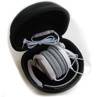 Black EVA Waterproof Hard Big Headphone Case Shockproof Large Carrying Case For Headphones Headset Bag