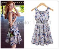2015 new spring casual Women Vest dress vestidos Slim Dress Spring Summer dresses