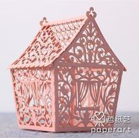Three-dimensional carved 3d shape paper art diy assembling model decoration