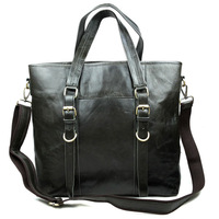 Big real genuine leather bags men handbag fashion designer brand high quality men's office messenger shoulder bags 2015