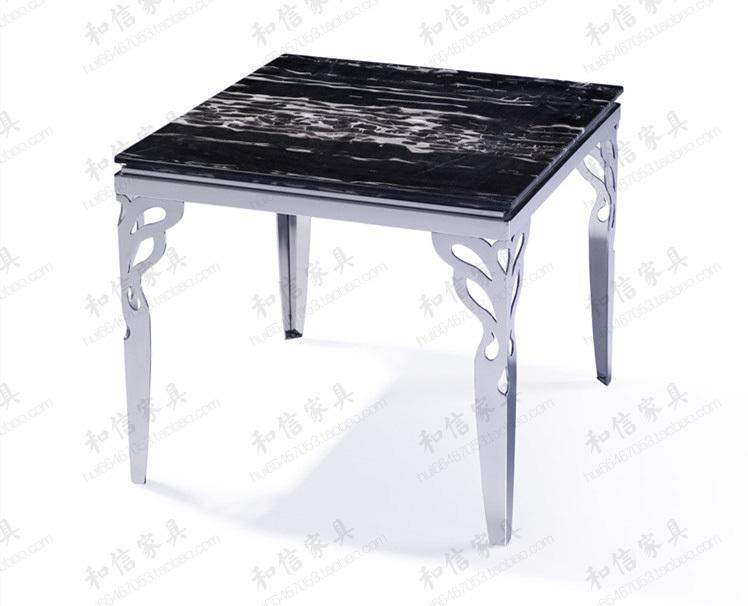 Aliexpress com  Koop Mode roestvrij staal salontafel marmeren tuin na een lange tafel moderne