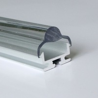20m(20pcs) a lot, 1m per pcs, Aluminum profile for led sign strips light, clear cover or milky diffuse cover or 30 degree lens
