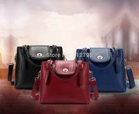 Leather handbag new European and American fashion aslant female bag woman genuine leather shoulder bag