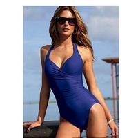 2015 Ladies' trajes de bano Sporty Swimsuit Professional One Piece woman Training Swimwear bathing suit 3 color Swimming suit