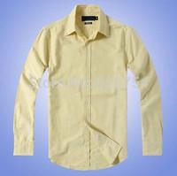 2015 new brand shirt 100% cotton fashion casual shirt long-sleeved men dress shirt Free Shipping #7030